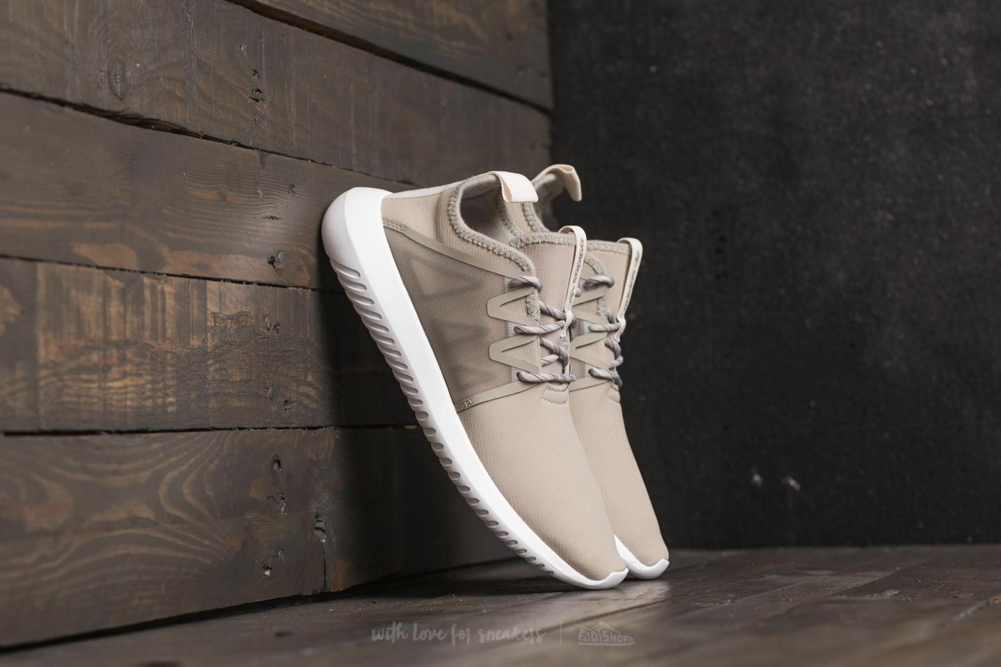 Adidas Women's Originals Tubular Viral2 W Sesame/White BY9744 - BRAND NEW IN BOX