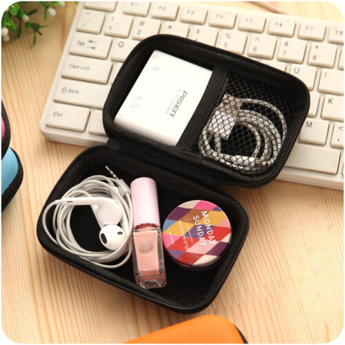 Waterproof Carrying Hard Case Box  Earphone  Storage Pouch Bag US