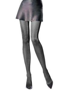 conception de la variété tout neuf beaucoup de styles Détails sur Femmes 30 Denier Lurex Brillant Collant, Semi-Opaque Collants,  Knittex Par