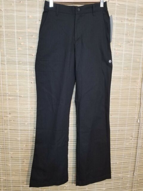 4e2ac15389b CHEF WORKS WOMEN S CHEF WORK UNIFORM PANTS BLACK STRETCH WAIST XS 24 X 31