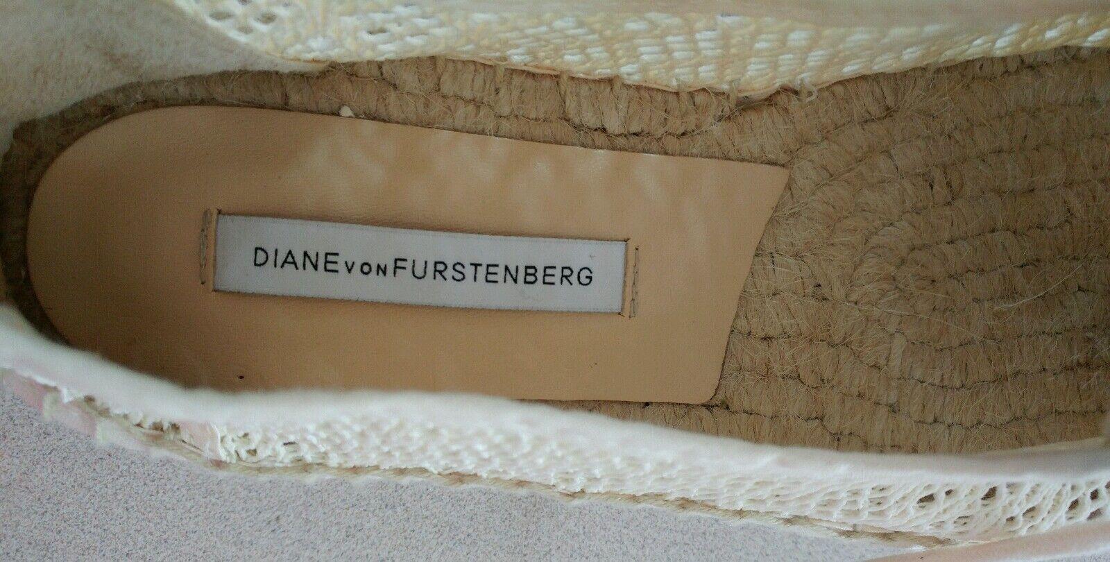 Diane von Furstenberg Tareena Größe Natural Platform Espadrille NIB Größe Tareena 41/10 ab306c
