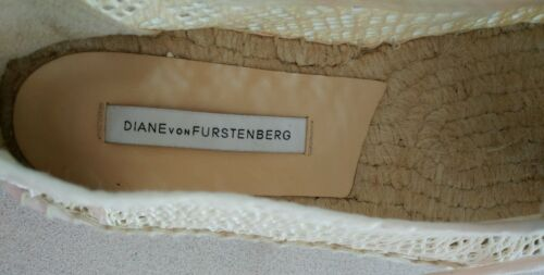 Natural Furstenberg Von Nib 10 Espadrille 41 Tareena Platform Diane Size HUSxwqtw