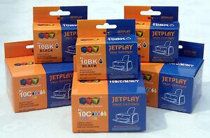 3-Noir-amp-3-couleur-de-KODAK-10-encres-pour-ESP-7200-7250-9250-bureau-6150