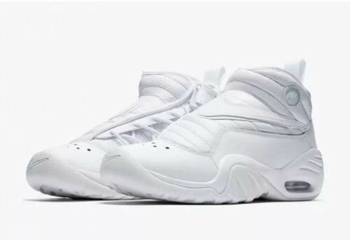 NIKE Air Shake Ndestrukt White Men's Basketball Shoes 880869 101 Price reduction