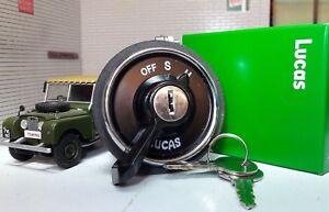 Original-Lucas-OEM-217589-Faro-conmutador-de-encendido-y-llave-Land-Rover-Serie-1-80