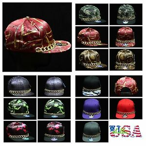 Baseball-Cap-Party-Cap-Fashion-Hat-Flat-Bill-Hip-Hop-Hats-Adjustable-Snapback