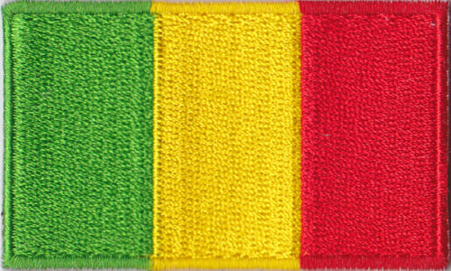 Mali Flag Embroidered Patch T4