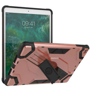For-Apple-iPad-Air-1st-Gen-Rubber-Shockproof-Hybrid-Kickstand-Tablet-Case-Cover