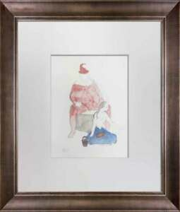 Pablo-PICASSO-Lithograph-Limited-Edition-SIGN-034-Saltimbanques-034-Custom-FRAME
