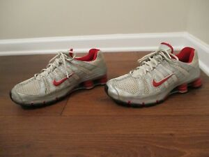 Classic 2006 Used Worn Size 12 Nike Shox NZ Turbo OH Shoes Silver ... 82ec0f9b4