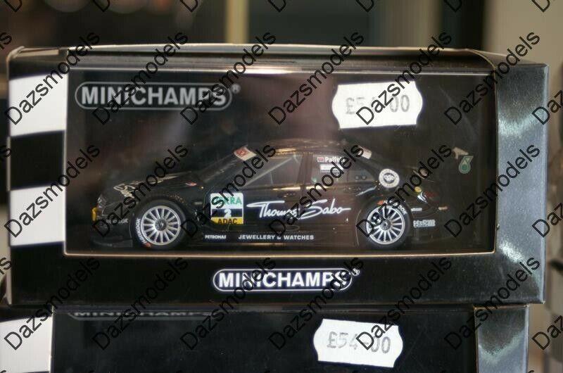 Minichamps Mercedes C classe DTM 2011 Paffett 01 43 diecast