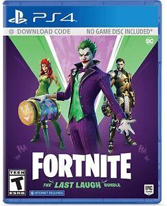 NEW-Fortnite-The-Last-Laugh-Bundle-No-Disc-Version-PlayStation-4-PS4