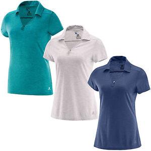 Salomon Ellipse Polo W Damen Funktionshemd Polo Shirt Outdoor