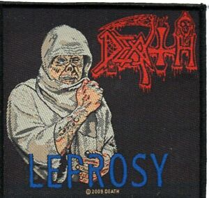 DEATH-034-LEPROSY-034-Official-Sew-On-Woven-Patch