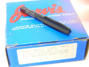"""Used Jarvis 1-1//2/"""" x 12 NF GH6 Semi-Bottoming HSS Hand Tap high speed steel USA"""