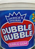 Dubble Bubble - Bubble Gum - Tub Of 340 Pieces