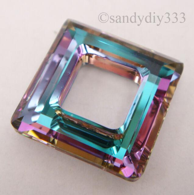 264155554740b Details about Swarovski Crystal, 6228 Heart Pendants 14mm, 2 Pieces,  Vitrail Light