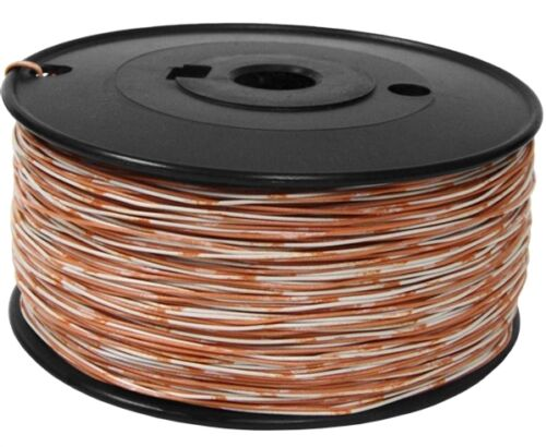 Cross Connect Wire 2 Twists//Ft Min XC-325-OW Bandmarked OR//WH 1 Pair 24AWG