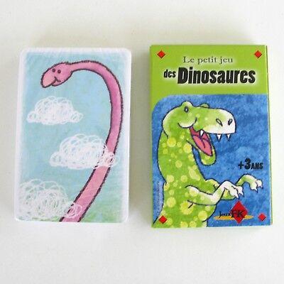 Ancien Jeu De Cartes Le Petit Jeu Des Dinosaures - Jeu De Mini Puzzle - De Mondholte Schoonmaken.