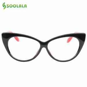 Cat-Eye-Frame-Reading-Eyeglasses-Presbyopic-Eyewear-Lightweight-Glass-For-Women