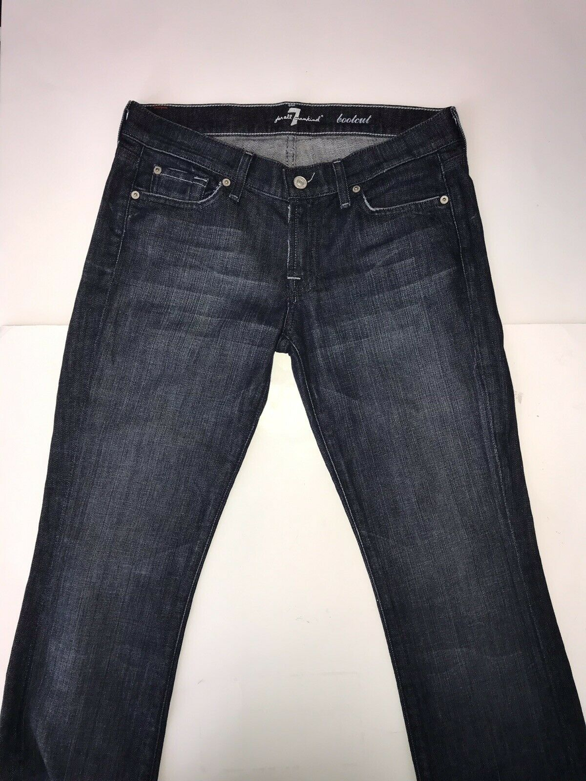 7 for all Mankind 29 x 34 Dark bluee Rinse U075j080u Boot Cut Jeans
