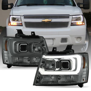 Image Is Loading 2007 2017 Chevy Suburban Tahoe Avalanche Led Drl