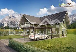 Blockhaus-zum-Festpreis-Holzhausbausatz-Massivholzhaus-Massivblockhaus-Bausatz