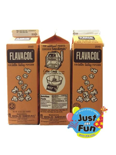 Flavacol Seasoning Popcorn Salt 100g 5 Pack For Sale Online Ebay