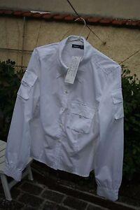NEUF-Chemise-MEXX-Taille-Fr-42-blanche-a-poche-encore-etiquete