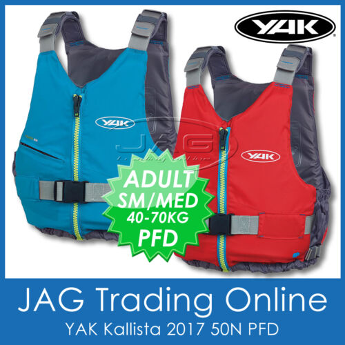 YAK KALLISTA 50N Buoyancy Aid PFD Kayak//Canoe//Touring//Sailing Boat Life Jacket