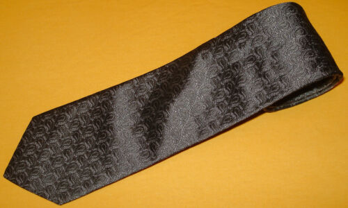Vintage Paisley Ties Grey Teal and Navy Design