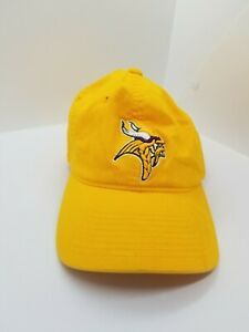 New-Minnesota-Vikings-Mens-Adult-Size-L-XL-Flex-Reebok-Hat-Yellow-Onfield