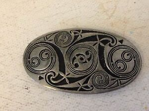 STUNNING VINTAGE PEWTER ST JUSTIN BROOCH - <span itemprop=availableAtOrFrom>Berkshire, United Kingdom</span> - I do not give refunds for items that don't fit properly or not as expected, so please be sure of the size and measurements before you bid. Should on a rare occasion an item be wrongly d - Berkshire, United Kingdom