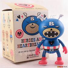 Kidrobot Heroes and Heartbreakers - The Cap'n 3-inch vinyl figure by Ryan Bubnis