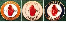 Ulster Loyalist 1690 Protestant Orange Order Pin Badge