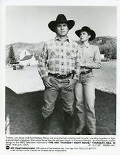DEE WALLACE STONE TOMMY LEE JONES EMINENT DOMAIN ORIGINAL 1987 ABC TV PHOTO