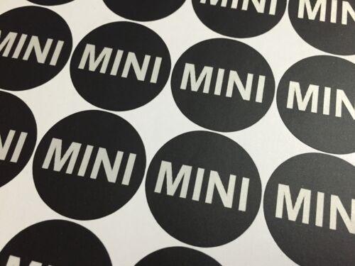 Mini Cooper Alloy Wheels 50mm center cap hub Reflective Stickers