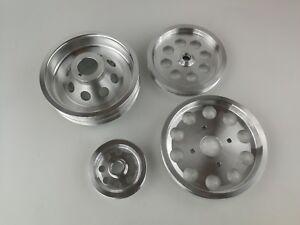 Underdrive-Pulley-Kit-fit-Nissan-Skyline-R32-R33-R34-RB25DET-RB25-Polished-4pcs
