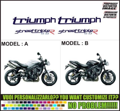 kit adesivi stickers compatibili street triple 675 r 2012