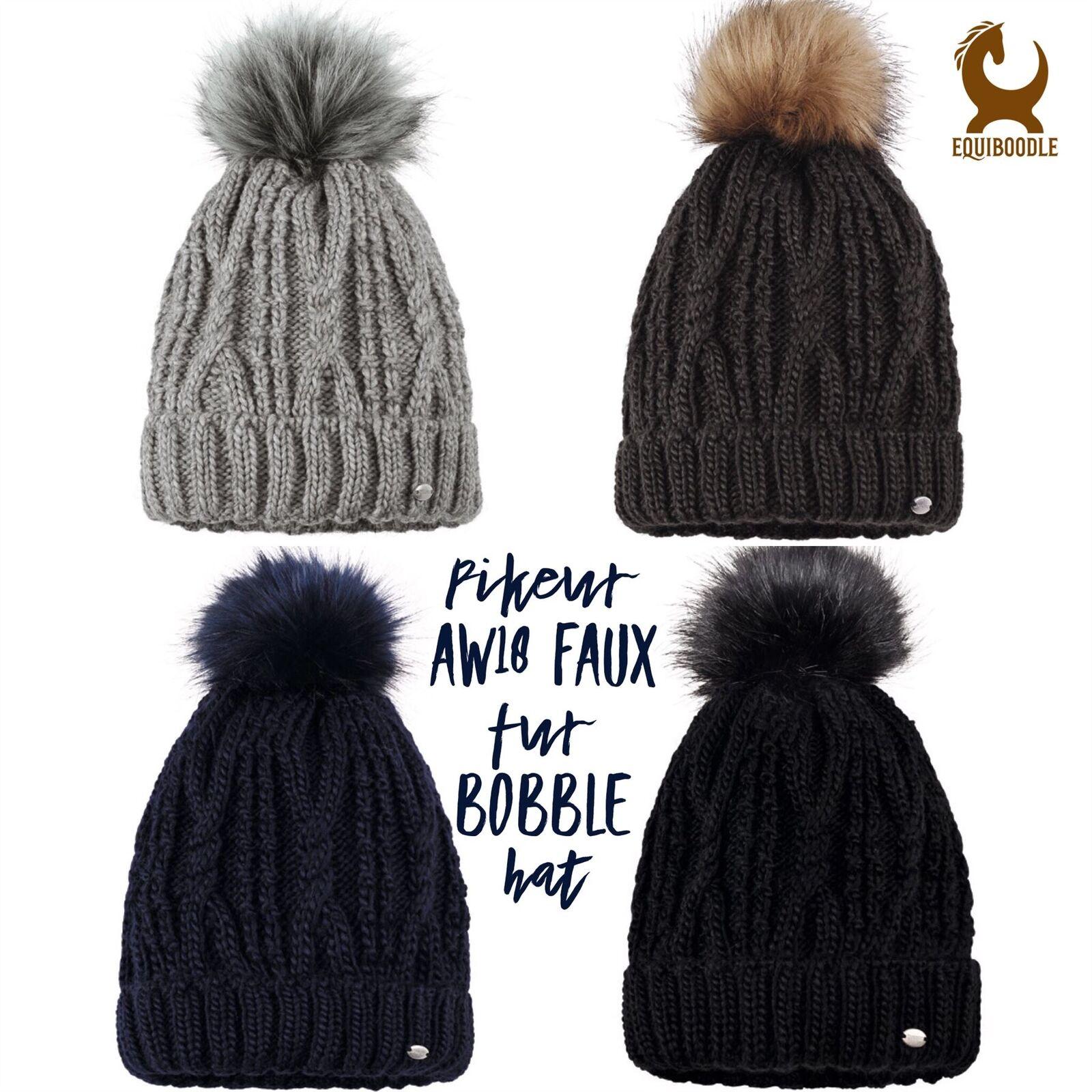 Pikeur AW18 Bobble Hat - Faur Fur