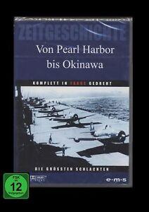 DVD VON PEARL HARBOR BIS OKINAWA - ZEITGESCHICHTE - 2ter Weltkrieg Pazifik * NEU