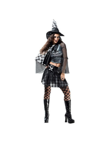 Adult Size 10-14 Bad Witch Fancy Dress Halloween Outfit Reduced to Clear BN