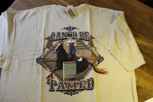 Cant Be Tamed ! T -Shirt COWBOY BRAND USA