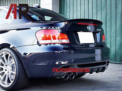 XTT Spoiler per Baule Adatto per BMW Serie 1 E82 Coup/é 2007-2013 116i 118i 120i 125i 128i 130i 135i Coperchio Posteriore Automatico in Fibra di Carbonio CF Coperchio del Labbro Highkick