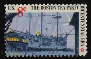 Image Is Loading Scott 1481 8 Cent Boston Tea Party 25