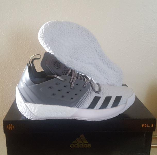 5b35f0424e911 New Adidas 3 James Harden Vol. 2 3 Adidas Boost Primeknit Grey White  Basketball Shoes 11 bca5fe