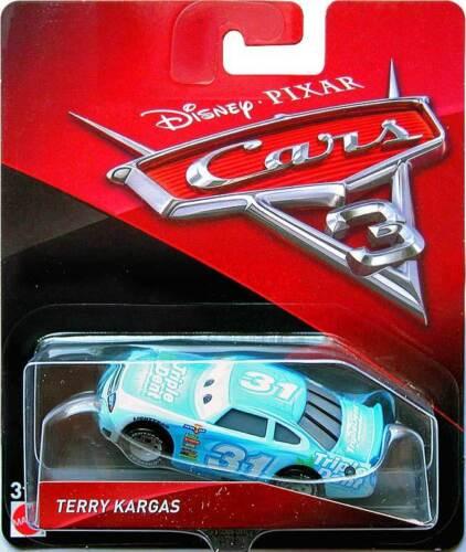 VOITURE DISNEY PIXAR CARS 3 TERRY KARGAS TRIPLE DENT EXCLU