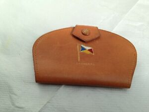 Vintage P/ O Shipping Line S,S Canberra Leather Holder