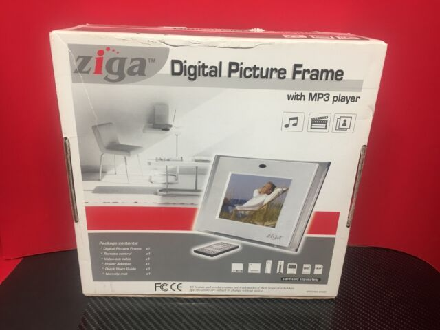 Ziga Digital Picture Frame With Mp3 Player | eBay