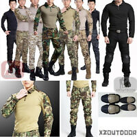 Airsoft Tactical Gen3 G3 Combat Suit Shirt Pants Special Forces Bdu Uniform Swat
